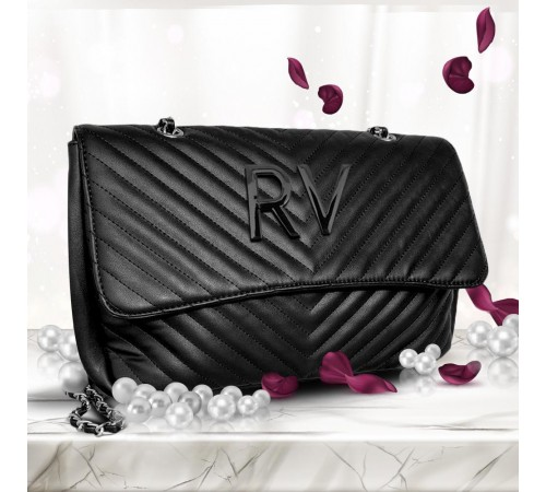 LUXURY BAG 07 INIZIALI BLACK