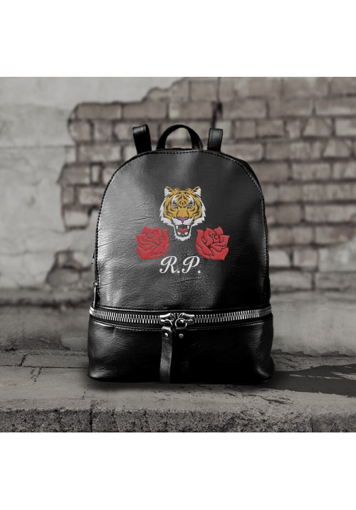 ZAINO TIGER E ROSE